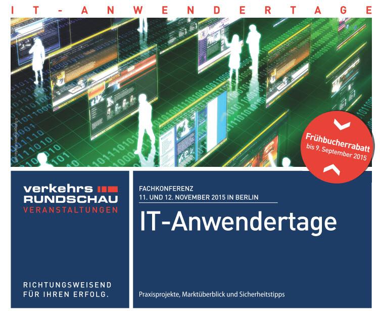 IT-Anwendertage in Berlin